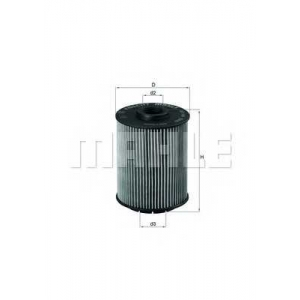 MAHLE FILTERS OX160D