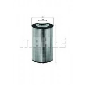 MAHLE ORIGINAL OX 161D Фильтр масляный Mercedes Vario