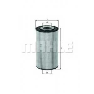 ox169d mahle Масляный фильтр MERCEDES-BENZ S-CLASS седан S 400 CDI (220.028, 220.128)