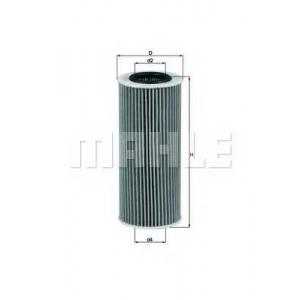 MAHLE OX177/3D Фильтр масляный