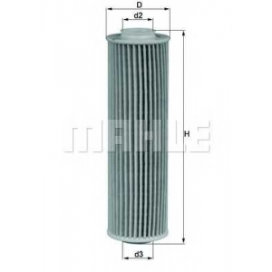 MAHLE FILTERS OX183/5D Фільтр масляний Mahle