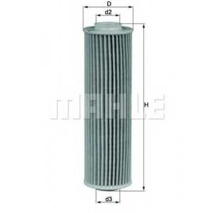 MAHLE FILTERS OX183/5D1 Фільтр масляний Mahle MB C180,C200,C250,E200 (W202) 07-