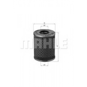 MAHLE FILTERS OX187D Фільтр масляний Mahle BMW M3/Z3-Modelle