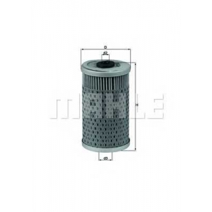 MAHLE FILTERS OX34D