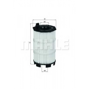 MAHLE FILTERS OX350/4D