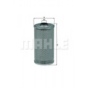 MAHLE FILTERS OX39D Фільтр масляний Mahle BMW