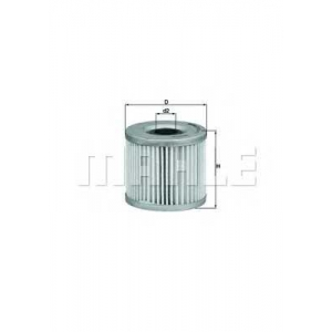 MAHLE FILTERS OX411