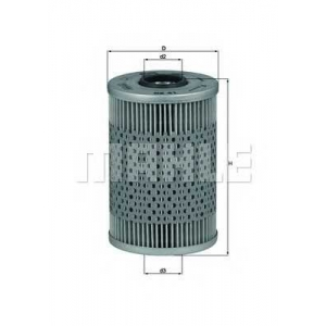 MAHLE FILTERS OX41D Фільтр масляний Mahle BMW