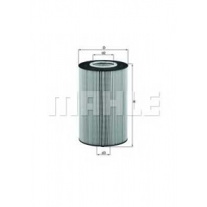 MAHLE FILTERS OX425D Фільтр масляний Mahle