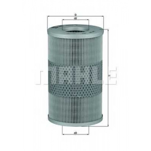 MAHLE FILTERS OX44D