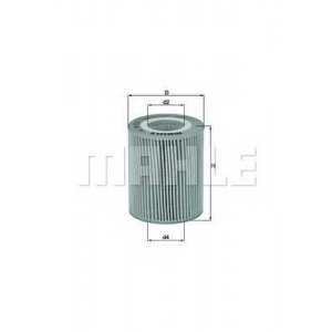 MAHLE FILTERS OX776D Фільтр масляний Mahle CITROEN/JAGUAR/LAND ROVER/PEUGEOT 3,0 D, 3,0 TD and 3,0 HDI.