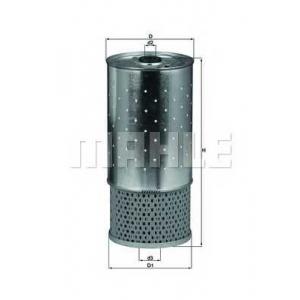 MAHLE FILTER OX 78D Фильтр масляный двигателя (вставка)