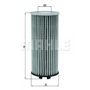 MAHLE FILTERS OX815D Фільтр масляний Mahle BMW, Mini 1.5