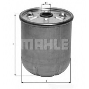 MAHLE FILTERS OZ6D Фільтр масляний Mahle Ford, Land Rover