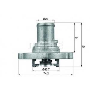 MAHLE TI12287D Термостат