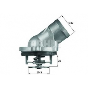 MAHLE TI 45 87 D Термостат CHRYSLER; MERCEDES-BENZ (пр-во Mahle)