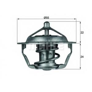 MAHLE TX 101 83 D Термостат с прокладкой