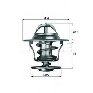 MAHLE TX 13 87 D Термостат, охлаждающая жидкость