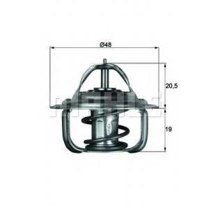 MAHLE TX 1 87 D Термостат AUDI; DAEWOO; OPEL; SAAB; VW (пр-во Mahle)