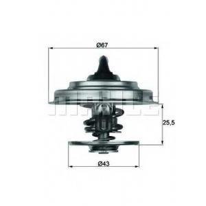 MAHLE TX 18 83 Термостат MB 609-814 OM314-364