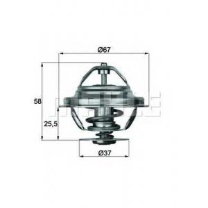 MAHLE TX 20 80 D Термостат с прокладкой