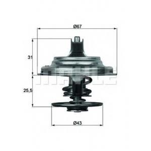 MAHLE ENGINE TX2383D Термостат Behr 2.105.83.300 DAF/ MAN