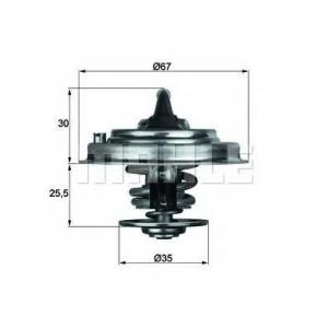 MAHLE ENGINE TX3087D Термостат Behr 2.145.87.312 VW LT 28-35-46,Passat,Transporter 4 2,5TDI -06