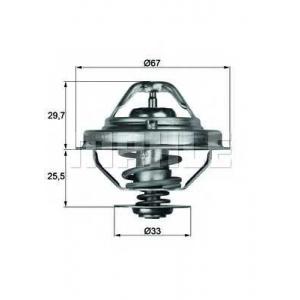 MAHLE TX 38 80 D Термостат BMW; LAND ROVER; OPEL; ROVER (пр-во Mahle)