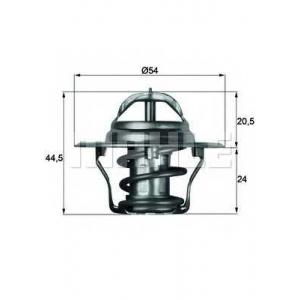 MAHLE TX 4 92 D Термостат FORD; MAZDA; ROVER (пр-во Mahle)