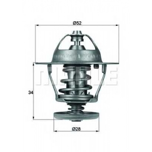 MAHLE TX 68 88 D Термостат с прокладкой