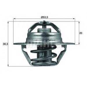 MAHLE TX 88 82 D Термостат CITROEN; FIAT; PEUGEOT; RENAULT (пр-во Mahle)