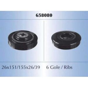 MALO 658080 Ременный шкив, коленчатый вал
