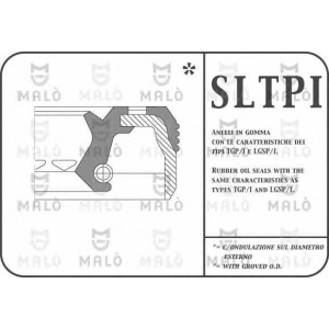 MALO 772PIFL Сальник 60X90X14/16,3 дифференциала IVECO DAILY