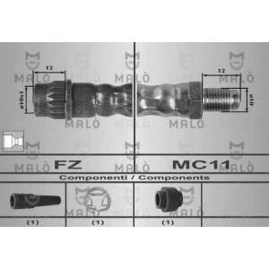MALO 80203 Шланг тормозной передний