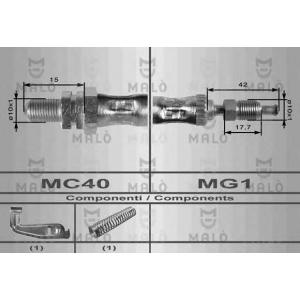 MALO 8687 Шланг торм пер