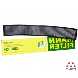 MANN CUK 6724 Фильтр салона угольный
