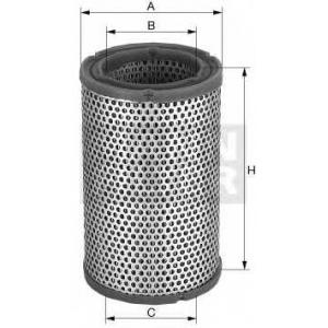 Воздушный фильтр; Фильтр, система вентиляции карте c1450 mann -