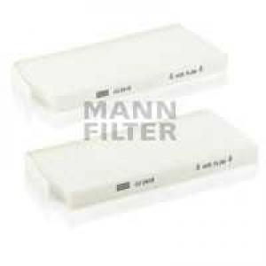 MANN-FILTER CU2418-2 Фильтр салона OPEL MOVANO, RENAULT KANGOO 08- (2шт.) (пр-во MANN)