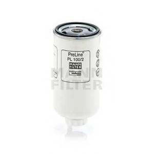 Фильтрующий элемент топливного фильтра pl1002 mann -