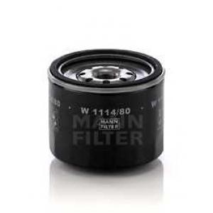 Масляный фильтр w111480 mann - MAZDA 323 III Hatchback (BF) Наклонная задняя часть 1.7 D