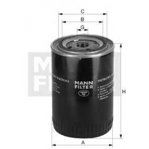 MANN-FILTER W1254X Spin-on Oil filter