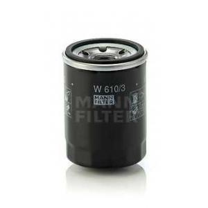 MANN-FILTER W610/3 Фильтр масляный (пр-во MANN)