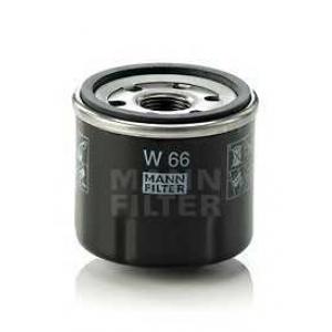 Масляный фильтр w66 mann - RENAULT TWINGO (C06_) Наклонная задняя часть 1.2 (C067)