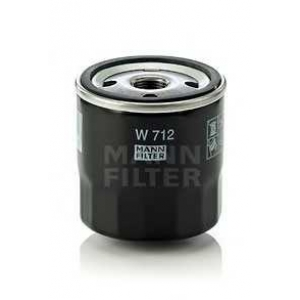 MANN-FILTER W712 Фильтр масляный (пр-во MANN)