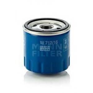 Масляный фильтр w71216 mann - FIAT PANDA (141A_) Наклонная задняя часть 1100