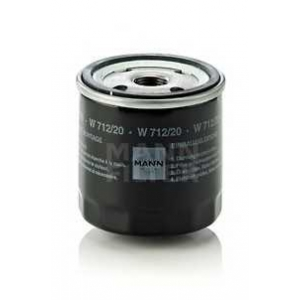 Масляный фильтр w71220 mann - AUDI 200 (43) седан 2.1 5 T