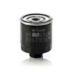 MANN-FILTER W712/52 Фильтр масляный (пр-во MANN)