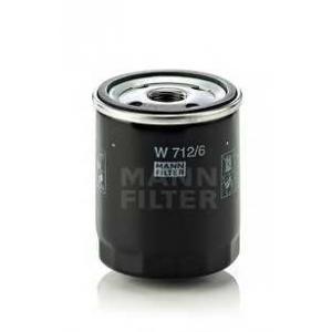 MANN W 712/6 Фильтр масляный