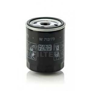MANN-FILTER W712/73 Фильтр масляный (пр-во MANN)