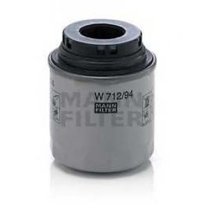 MANN-FILTER W712/94 Фильтр масляный VAG 1,2 TSI (пр-во MANN)
